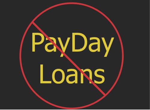 No Payday Loans